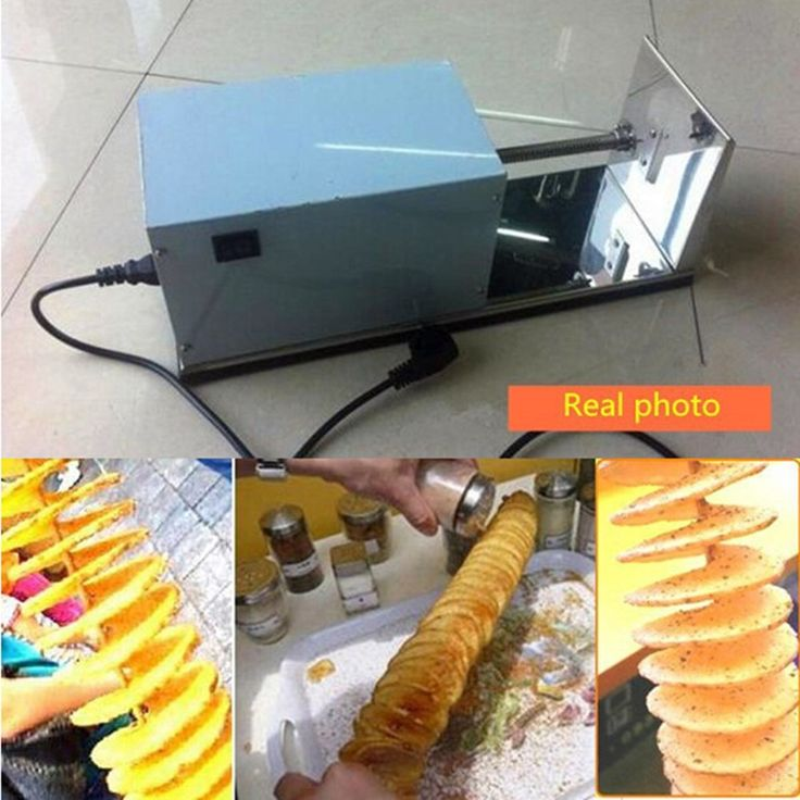 90.00$  Watch now - http://aliic0.worldwells.pw/go.php?t=32726887998 - Excellent Quality Spiral Potato Cutter Machine   ZF