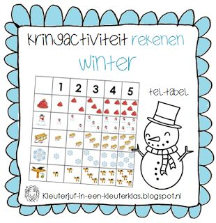 Rekenen - Tel-tabel | Thema WINTER