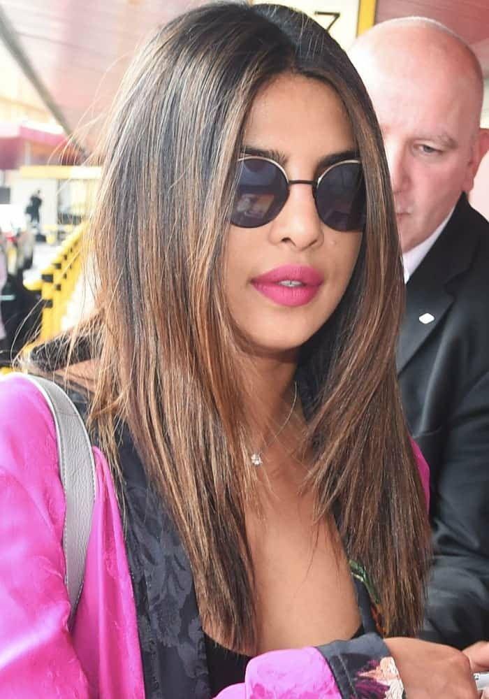 Pin By Wajd On Priyanka Chopra Priyanka Chopra Hair Hair Styles Hair