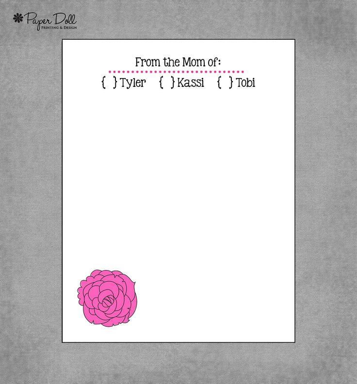 Best 25+ Custom notepads ideas on Pinterest July calendar 2016 - notepad template word