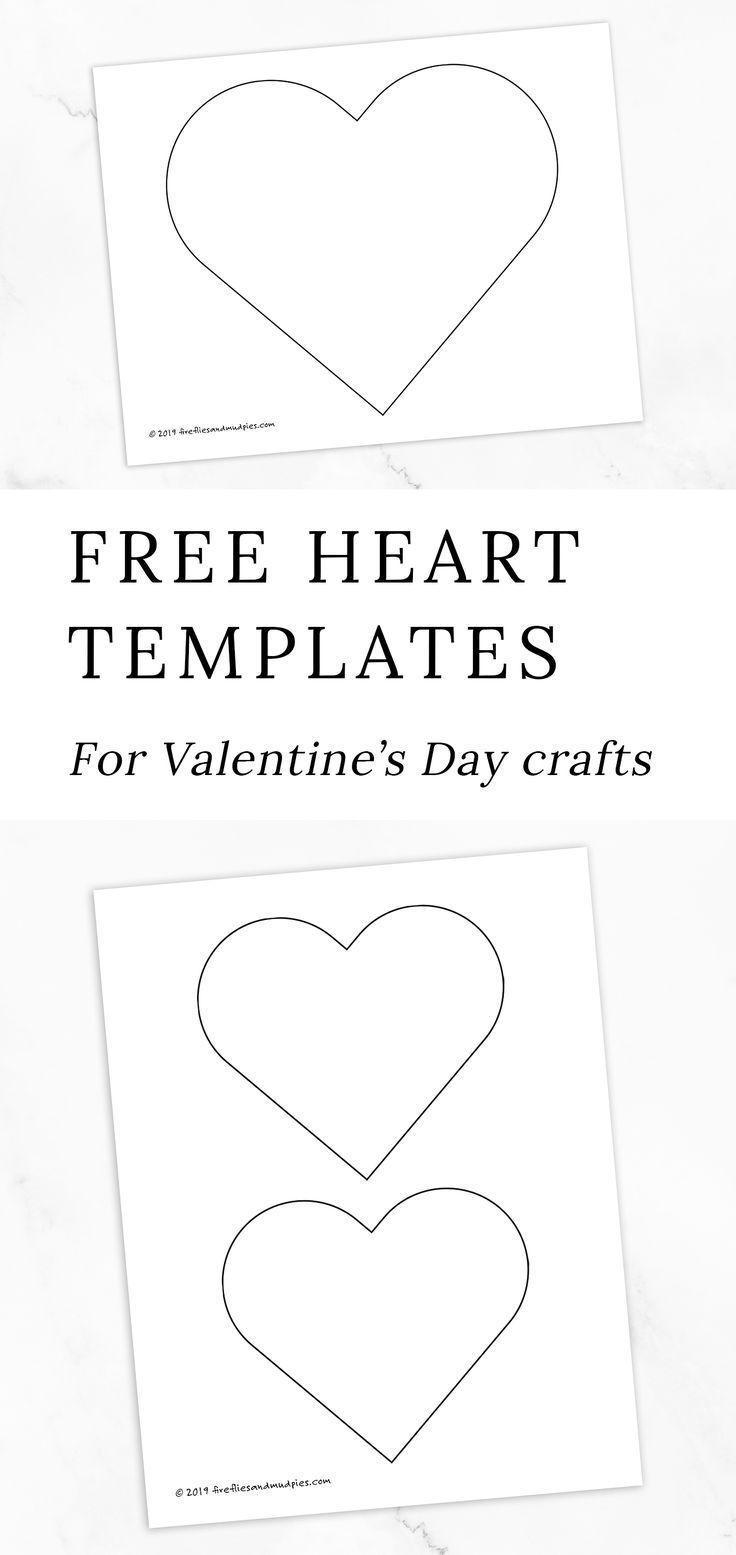 Rainbow Heart Suncatchers Heart Template Valentine S Day Crafts