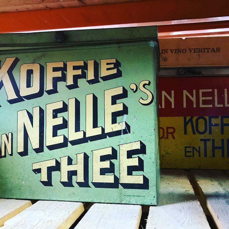 Van nelle koffie | Mammoet Oude Bouwmaterialen