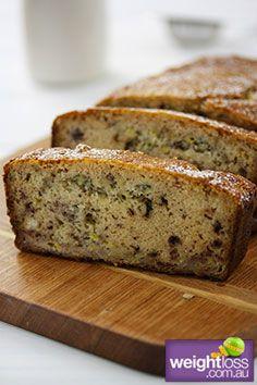 Healthy Cake Recipes: Gluten Free Banana Cake Recipe. #HealthyRecipes #DietRecipes #WeightlossRecipes weightloss.com.au