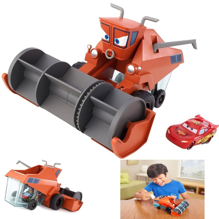 Change And Frank Disney Pixar Cars Chase Play Vehicle New Free  Shipping #Mattel