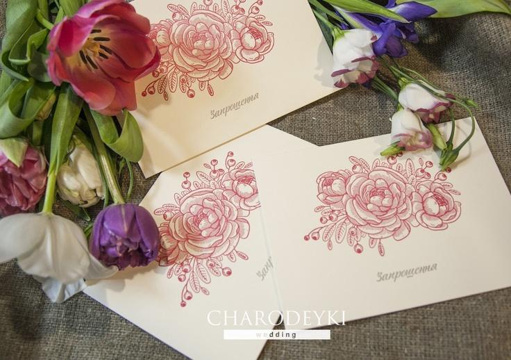 """Коллекции свадебных пригласительных 2013 года от нашей имидж студии """"Charodeyki""""  Invitations made by www.charodeyki.com, collection 2013"""