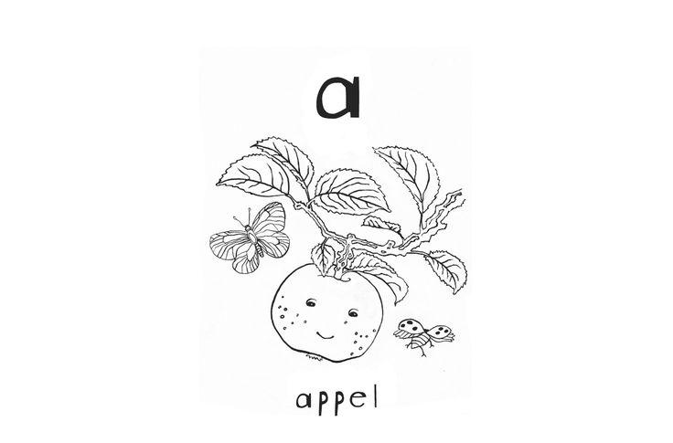 466 best Van A tot Z , het alfabet / beginnende