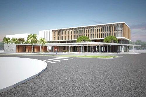 4. Mansiyon - Antalya Gazipaşa Belediye Hizmet Binası, Ticaret Merkezi ve Yakın Çevresi Ulusal Mimari Proje Yarışması - kolokyum.com