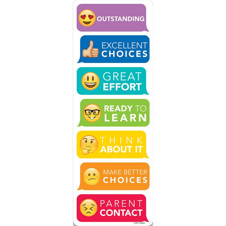 This personal-sized Emojis Behavior Clip Chart is perfect for helping students monitor their behavior at their desk. This is a simple yet effective behavior management tool teachers can use to visuall