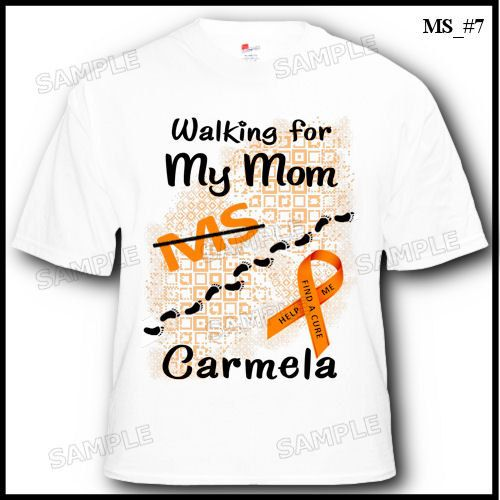 Personalized Multiple Sclerosis MS Walk T-Shirt 2T 3T by TeeVites