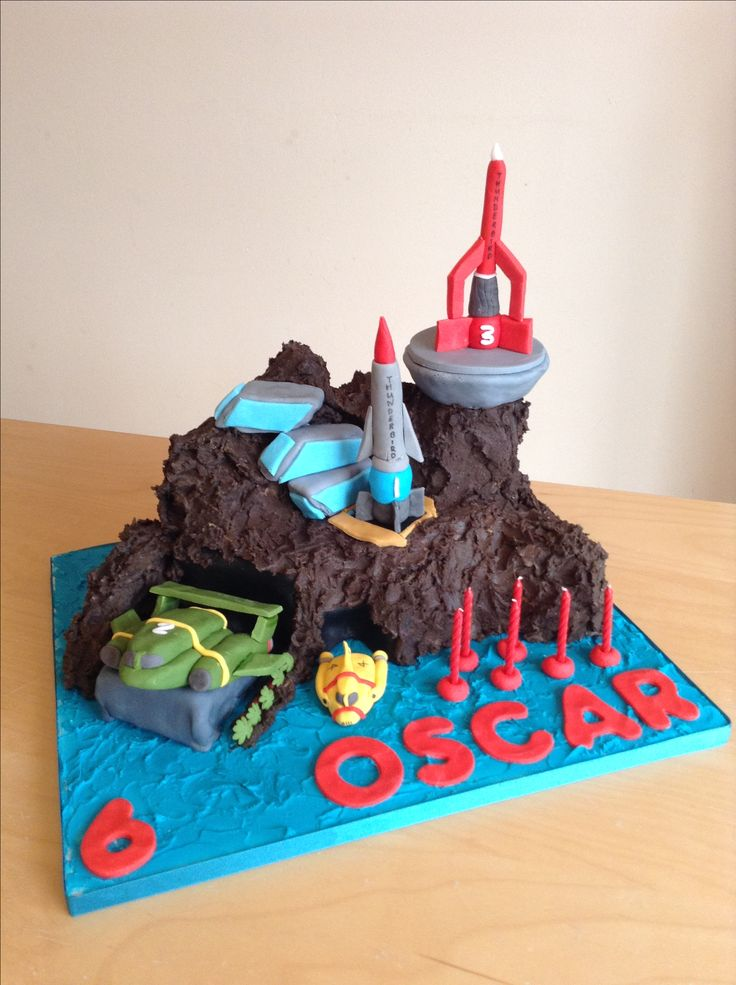 Thunderbirds cake