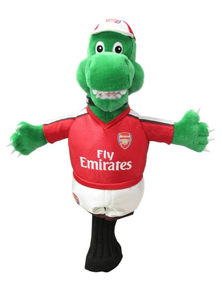 ARSENAL F.C. Mascot Headcover. Official Licensed Arsenal FC Product. FREE DELIVERY ON ALL OF OUR GIFTS