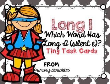 Long I (Silent E) Tiny Task Cards