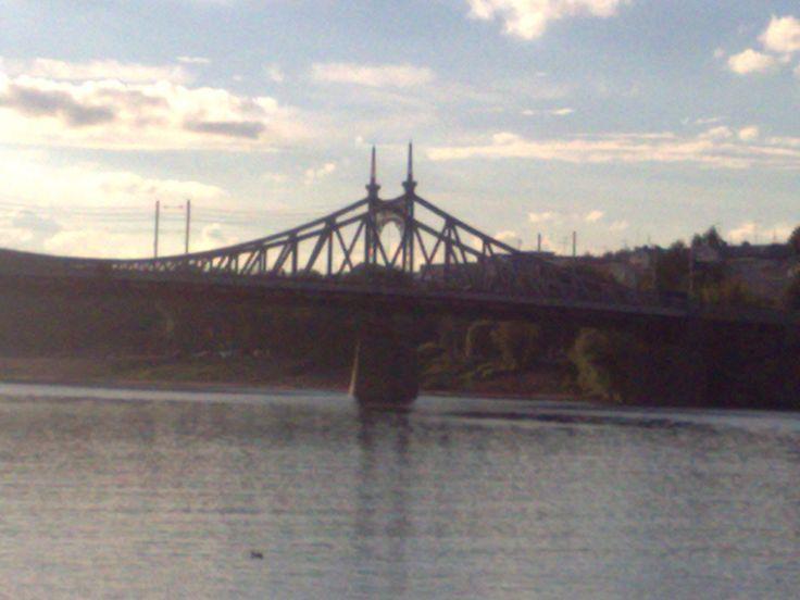 Староволжский мост в Твери