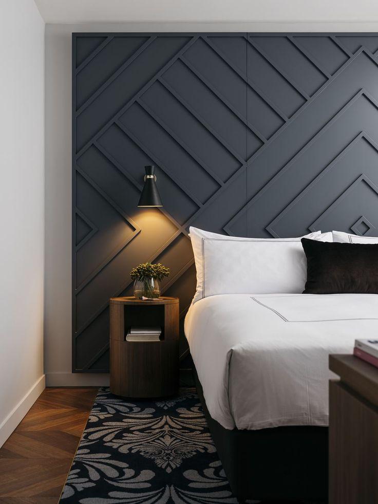 West Hotel - Chambre tête de lit