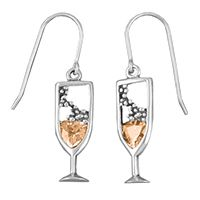 Champagne Earrings www.the-champagne.ch Zürcher-Gehrig AG Switzerland