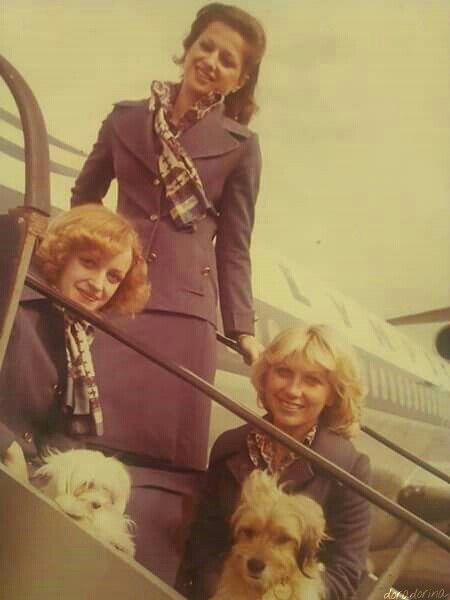 Olympic Airways crew 1957\2007