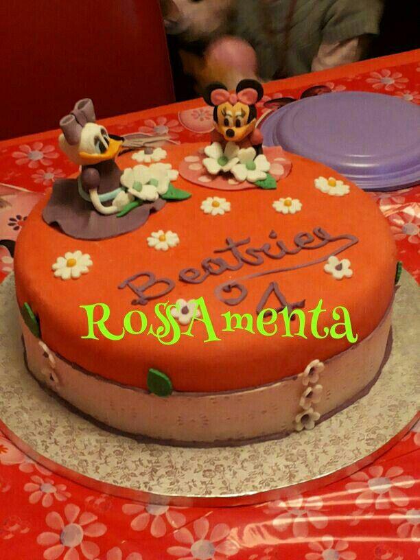 Minnie e paperina cake