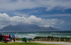 Table Mountain from Big Bay  Copyright: Hentie Mostert