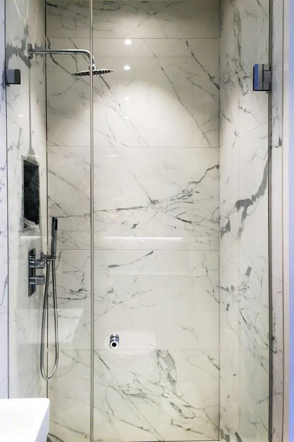Frameless Shower Door With Mini Shower Door Sealing Strips