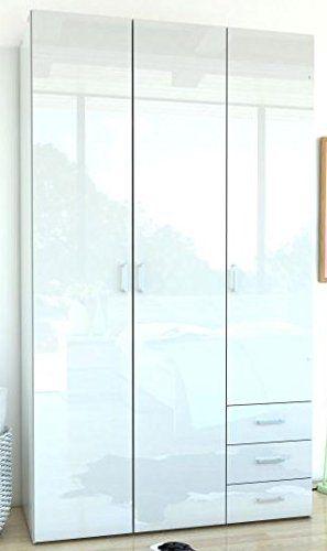 Die besten 25+ Kleiderschrank 3 türig Ideen auf Pinterest - Schlafzimmerschrank Kiefer Massiv