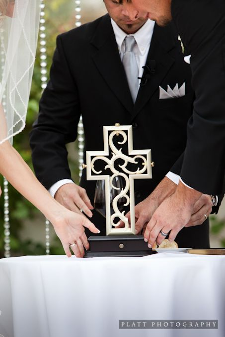 Unity Cross The Outer Represents Man Inner Woman And Three Wedding CrossUnity CeremonyWedding
