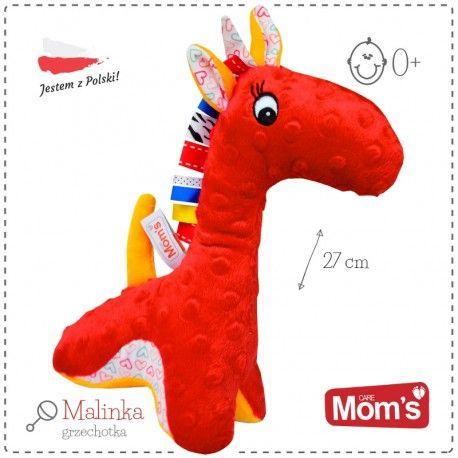 Witajcie, Żyrafa w kolorze malinowym, to nie żart :)  Hencz 946 Malinka - Mięciutka Grzechotka Żyrafa dla Niemowląt.   Zabawka wydaje dźwięki kiedy dziecko nią potrząśnie. Wykonana jest z różnych rodzajów materiałów, tak aby dziecko poznawało różnorodny świat.  Sprawdźcie sami:)  http://www.niczchin.pl/zabawki-dla-noworodkow/3209-hencz-946-malinka-grzechotka-zyrafa.html  #zabawki #dlanoworodków #hencz #grzechotka #niczchin #kraków