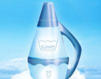 suiwer detergent by Valentin Mattes, via Behance