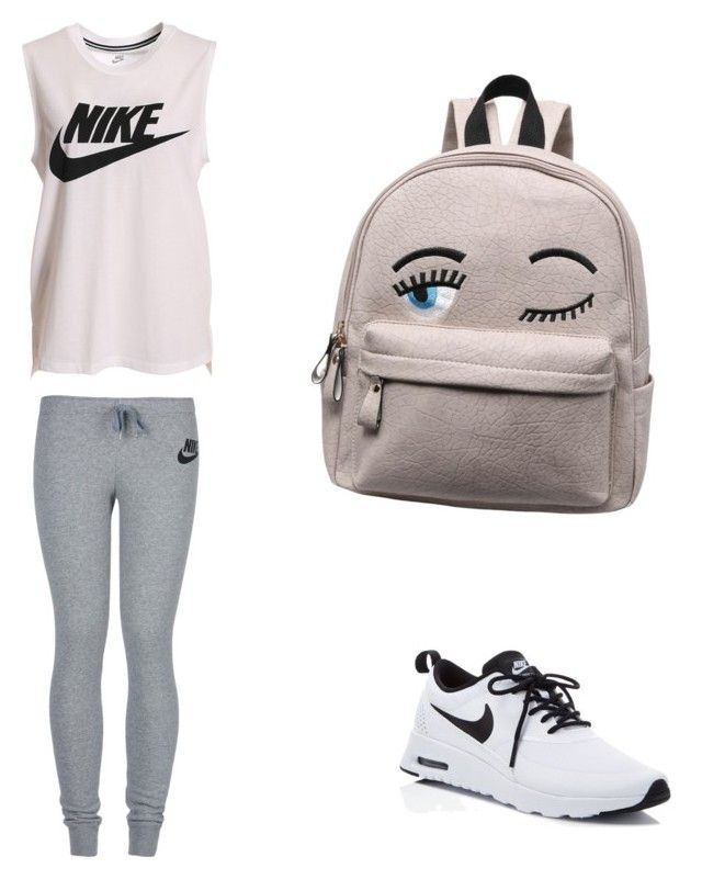 """""""Untitled #11"""" by hongjina on Polyvore featuring NIKE"""