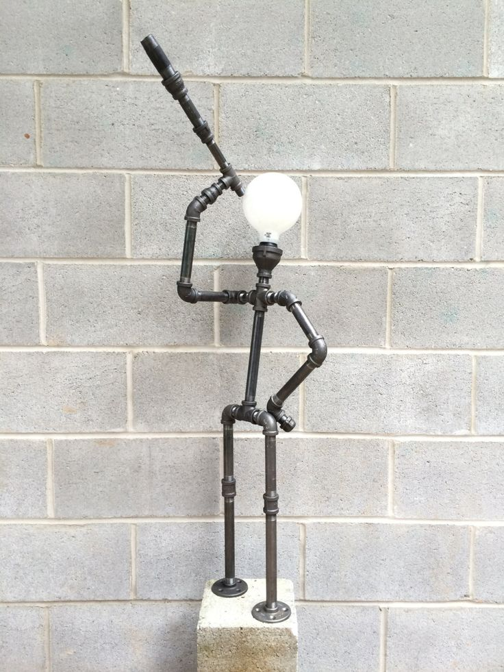 Dreamer; This tall lamp will surely light up peoples interest by CreativePipeLamps on Etsy https://www.etsy.com/listing/228179159/dreamer-this-tall-lamp-will-surely-light