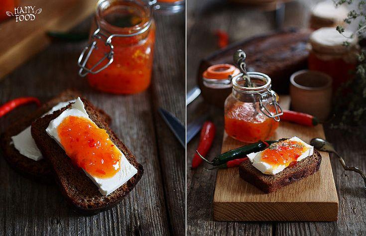 Перечный джем к сыру - HAPPYFOOD