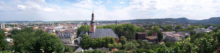 Bad Kreuznach, Germany - The town of my birth and early life.