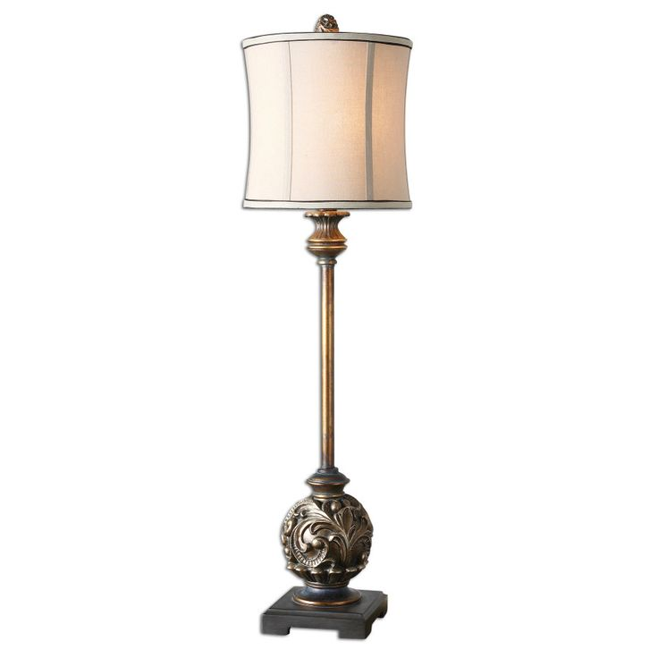 Uttermost shahla 35 h table lamp with oval shade reviews wayfair