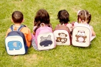 woddlers backpack (pvc free) - girls and boys designs $25