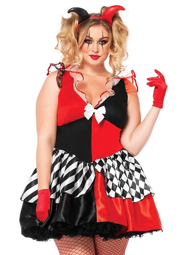 the 25+ best harley quinn costume plus size ideas on pinterest