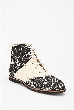 Bass Loves Rachel Antonoff Lace Boot // Urban Outfitters