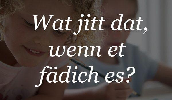 Wenn Deine Kreativität mal wieder zu weit ging:   18 wundervolle Sätze, die Du nur kennst, wenn Du in Köln aufgewachsen bist