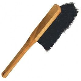 Plastic-Free Wooden and Natural Delta Hand Brush - Horsehair