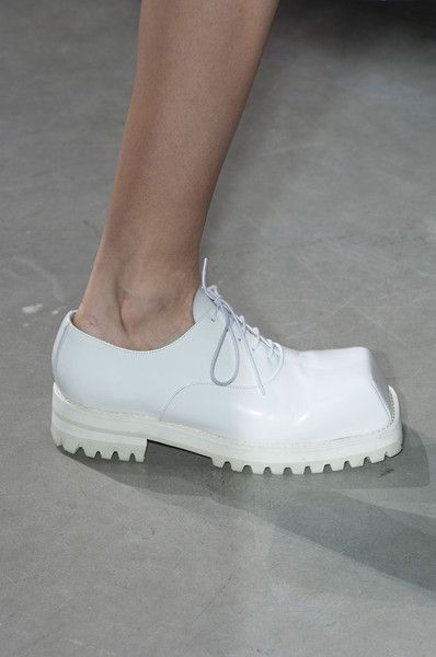 Acne Studios Fall 2014 - These are the most hideous shoes I've seen in a very long time. I love them !