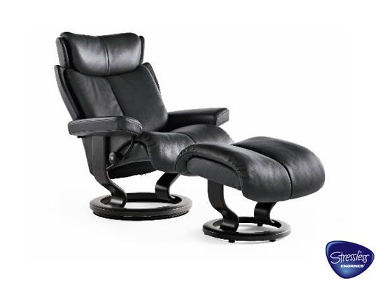 Dania Recliners Stressless Magic from 3395 Furniture