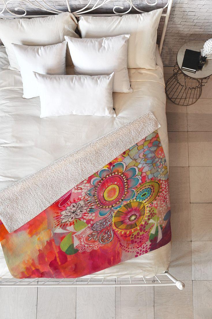 Stephanie Corfee Miss Libby Fleece Throw Blanket   Deny Designs