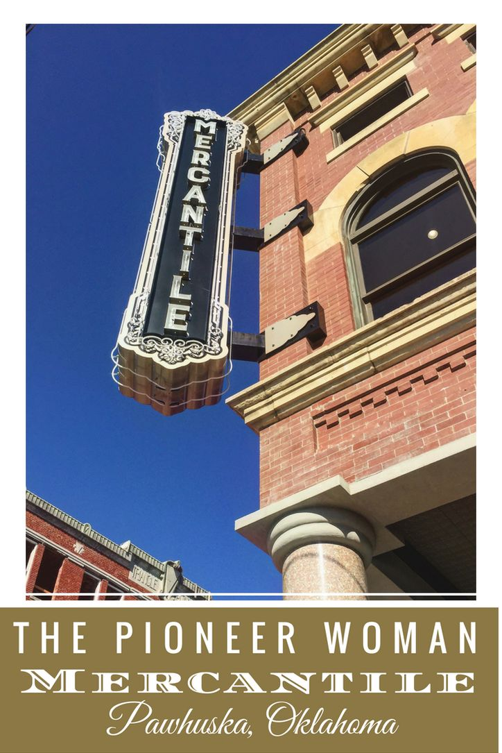 Want to visit the Pioneer Woman Mercantile? Here's what you need to know! www.pagesoftravel.org