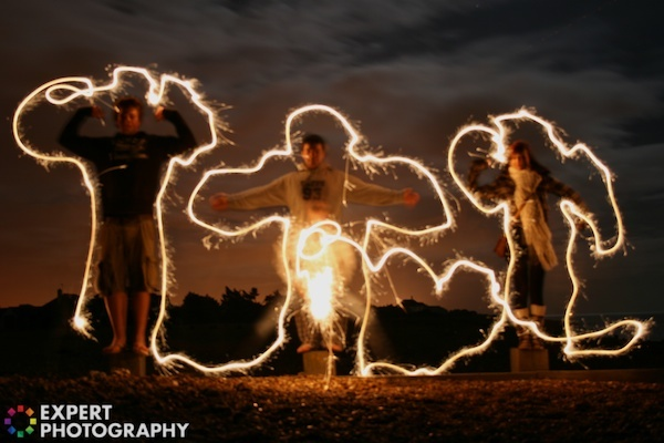 Light Graffiti-Must do this with my class. Physics , dance, art and writing etc imagine the possible lessons you could  do with this. Kids will love being creative this way.