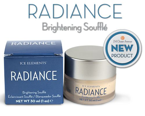 Radiance Brightening Soufflé Wake up in the morning and add a dose of freshness to your skin! The Radiance Brightening Soufflé leaves your skin feeling soft the moment you rub it into your skin. This product is perfect for all skin types including mature and sensitive skin.