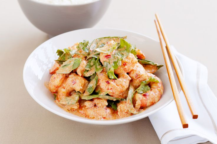 """My Choo Chee Prawn recipe that I competed with in the """"Home Cook of the Year"""" in 2009 Good Taste Award"""