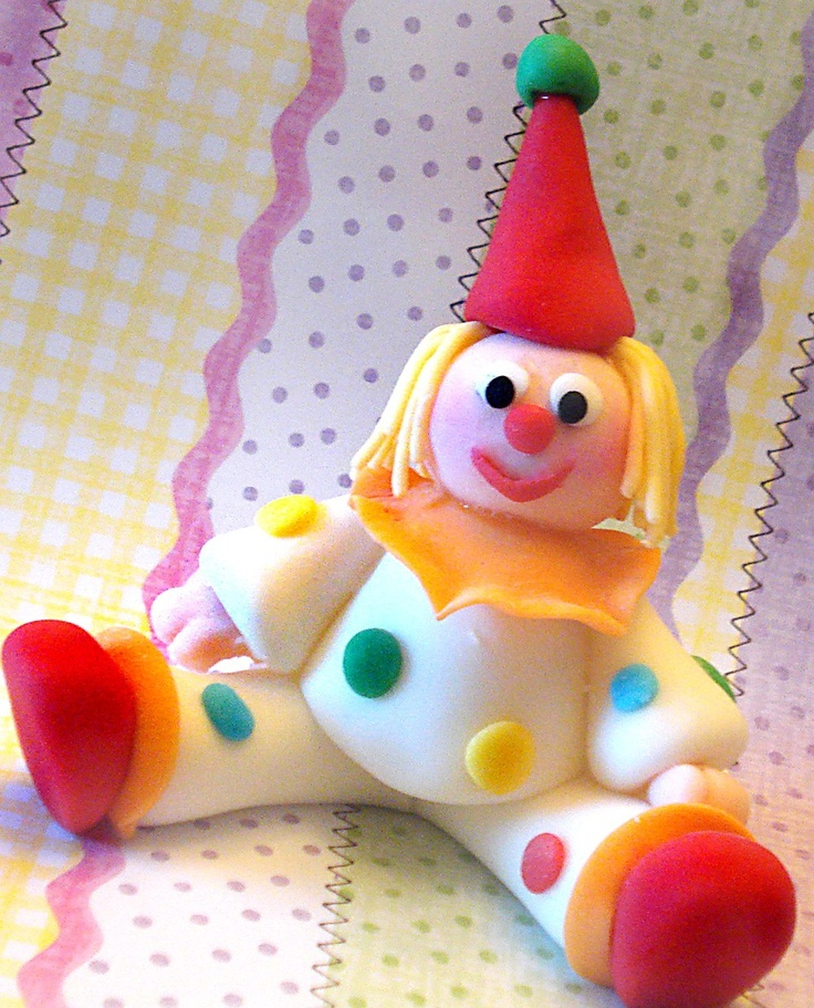 clown cake topper - Google Search