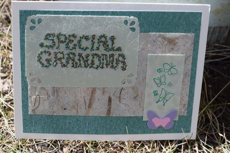 A Special Mother's Day Card for a Special Grandma - Don't forget Grandma this Mother's Day:) by JuniperandJayDesigns on Etsy