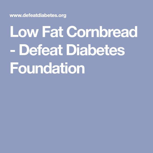 Low Fat Cornbread - Defeat Diabetes Foundation