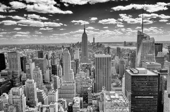 Wall graphic  New York Skyline Panorama over Manhattan by ZoogSay, $16.00