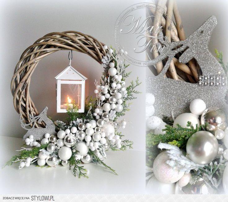 Wianek świąteczny http://marfindecor.pl/pl/new na Stylowi.pl