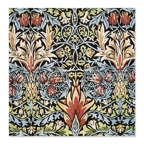 William Morris Shower Curtain Craftsman home or Arts and Crafts style #decor #interior #bathrooms